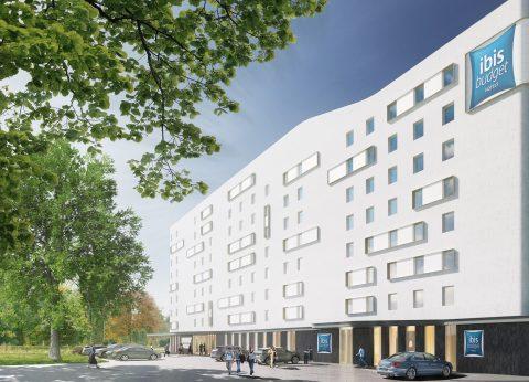Vue extérieure Hôtel Ibis Budget, Paris-Gennevilliers, 2 étoiles, Parc Hôtelier Suitcase Hospitality