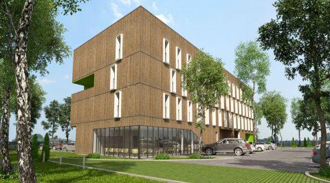 Futur hôtel Greet 3 étoiles à Pacé, au Nord de Rennes
