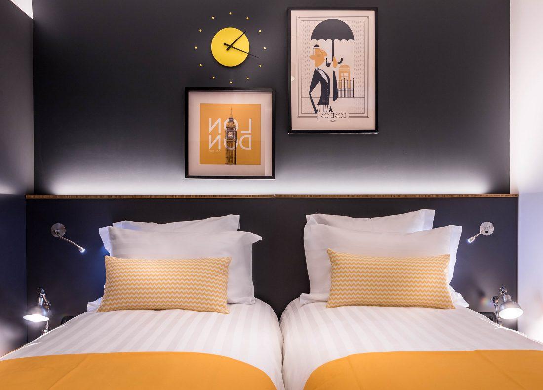 Chambre du Best Western Plus Suitcase Hospitality Paris - La Défense, hôtel 4 étoiles du parc hôtelier de Suitcase Hospitality