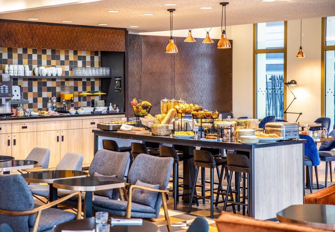Buffet Petit-Déjeuner de l'Hôtel Mercure Paris Gennevilliers