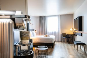 Chambre Privilège de l'Hôtel Mercure Paris Gennevilliers