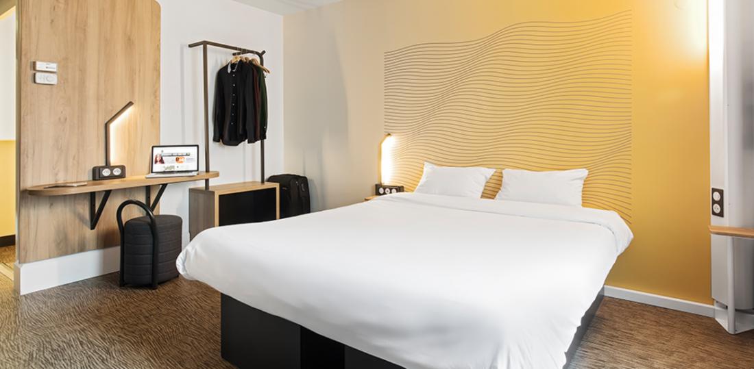 Chambre Hôtel B&B Créteil, hôtel 3 étoiles du parc hôtelier de Suitcase Hospitality