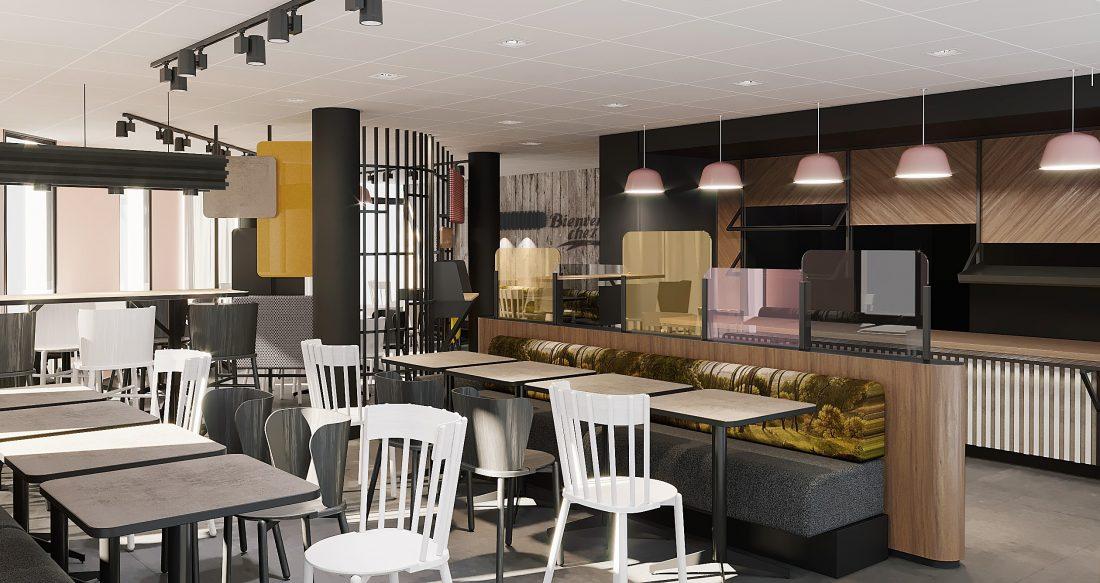 Espace petit-déjeuner Hôtel B&B Créteil, hôtel 3 étoiles du parc hôtelier Suitcase Hospitality