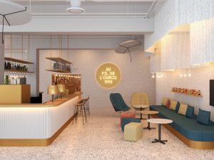 Bar Hôtel ibis Styles Paris Romainville, hôtel 3 étoiles du parc hôtelier Suitcase Hospitality