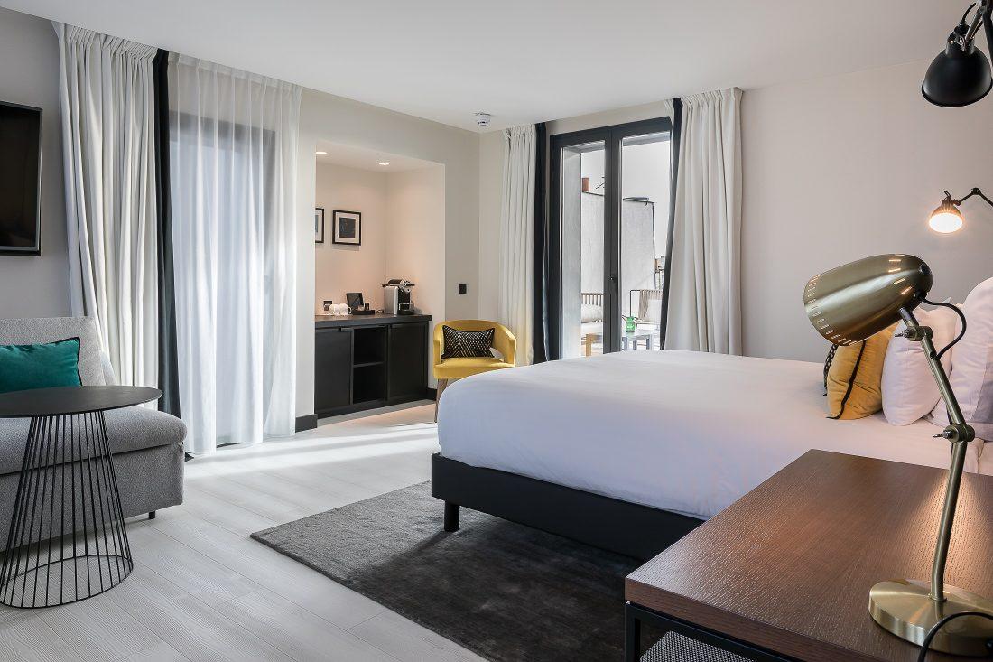 Chambre du LAZ' Hôtel Spa Urbain Paris Saint-Lazare, boutique-hôtel 4 étoiles du parc hôtelier Suitcase Hospitality